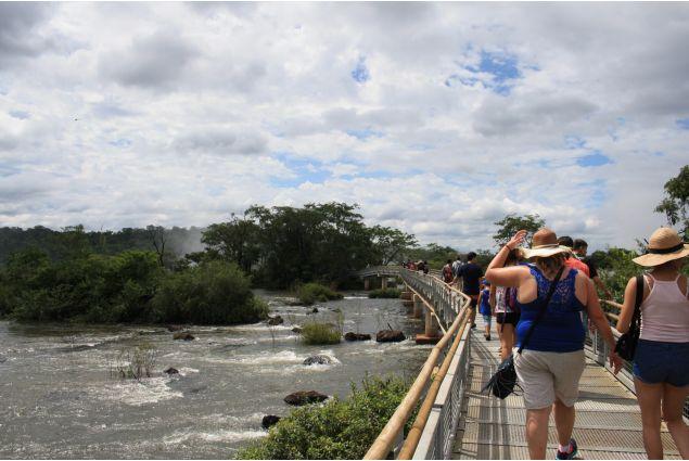 Verso le cascate di Iguazù