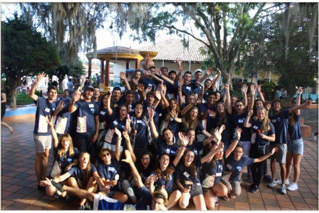 Gli studenti AFS al loro arrivo in Honduras