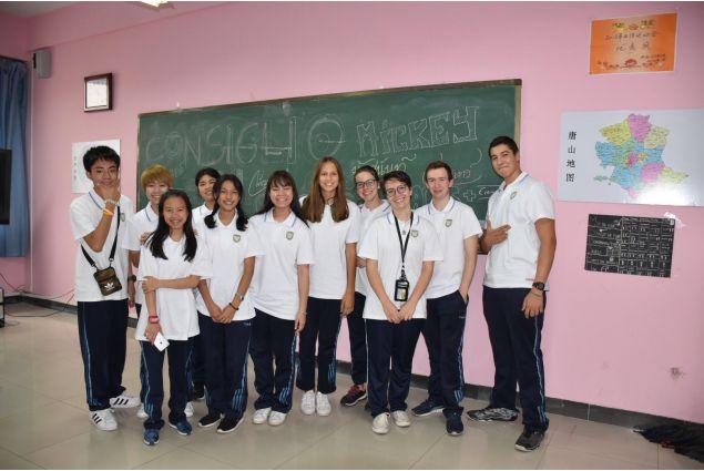 Il mio primo giorno di scuola alla Hebei Tangshan Foreign Language school! -Juliette, Cina