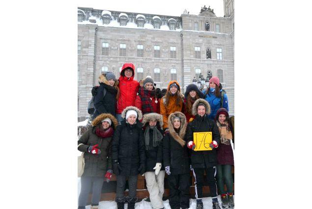 Alice e i suoi amici nell'inverno canadese