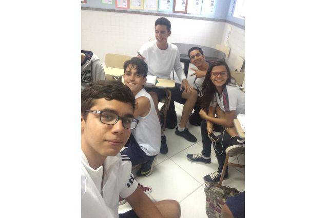 compagni di Enrico in classe