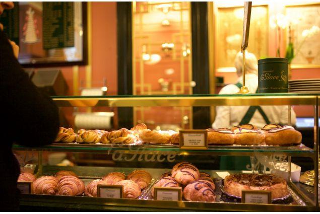 La Glace, uno dei Caffè più famosi di Copenaghen, famosa per le sue pasticcerie tradizionali.