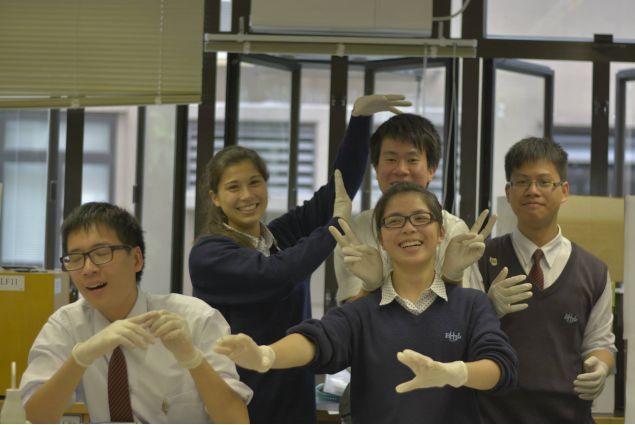 Open day a scuola: il laboratorio di biologia