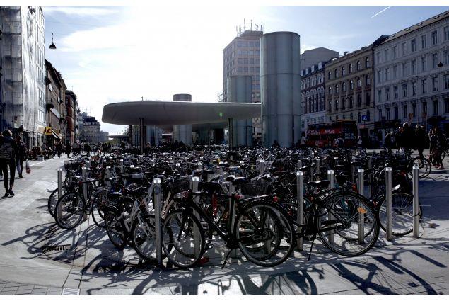 Stazione della Metro di Nørreport, Copenaghen.