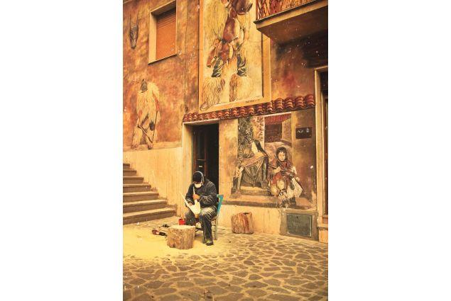 Il creatore di Boes: Ogni posto ha delle sue culture e tradizioni che rappresentano il folklore delle sue radici. Le maschere sarde sono un esempio di quello, l'sforzo e la creatività si logra vedere, il loro grande impegno che realizzano per fare queste maschere fatte a mano e quello che più ho ammirato al momento che ho scattato questa foto, e anche la importanza di mantenere in piede le tradizioni di un paese. Juan Domingo, dal Costarica a Terralba per un anno