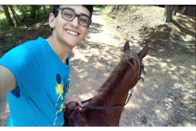 Prima passeggiata a cavallo