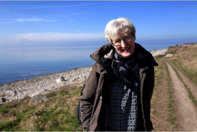 """<div>Anne Birgitte, detta Gitte, la mamma ospitante, ama organizzare mini road trip con pranzo al sacco, le lunghe passeggiate dove possiamo chiacchierare e """"rinfrescarci le guance"""".</div>"""