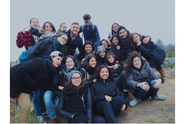 Gita con il gruppo di studenti AFS-Intercultura