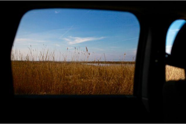 Scatto in viaggio verso il punto più a nord dell'isola di Fyn, Fynshoved