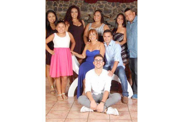 Francesco e famiglia