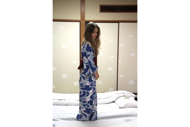 La camera da letto giapponese di Cecilia