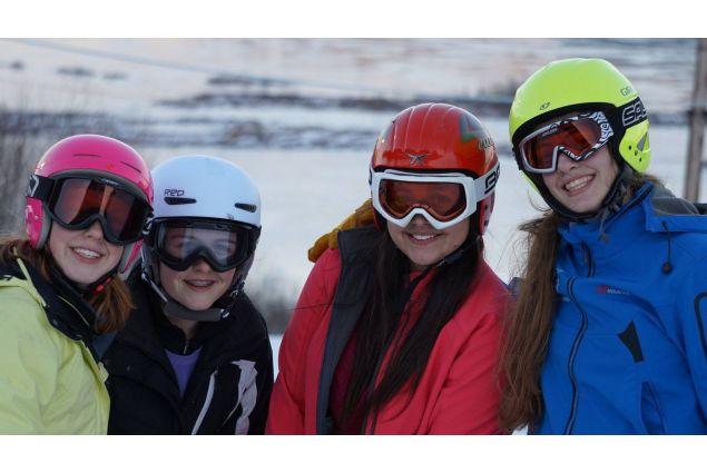 Gara di sci!