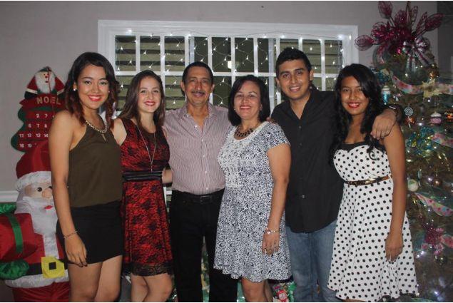 Il Natale di Martina con la famiglia