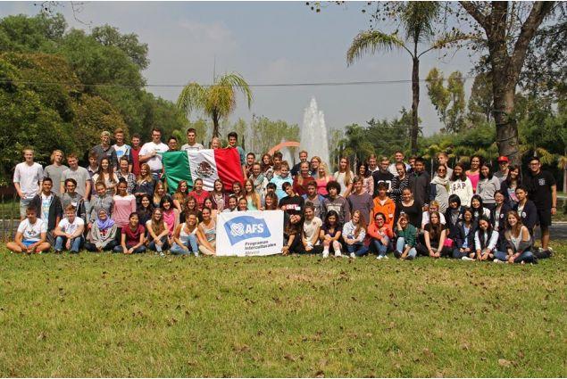 Il gruppo di AFS Mexico 2015-2016