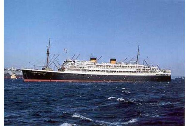 La nave MS Johan Van Oldenbernevelt
