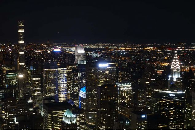 New York dall'alto