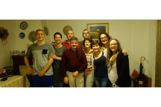 Nadia e la sua grande famiglia italiana